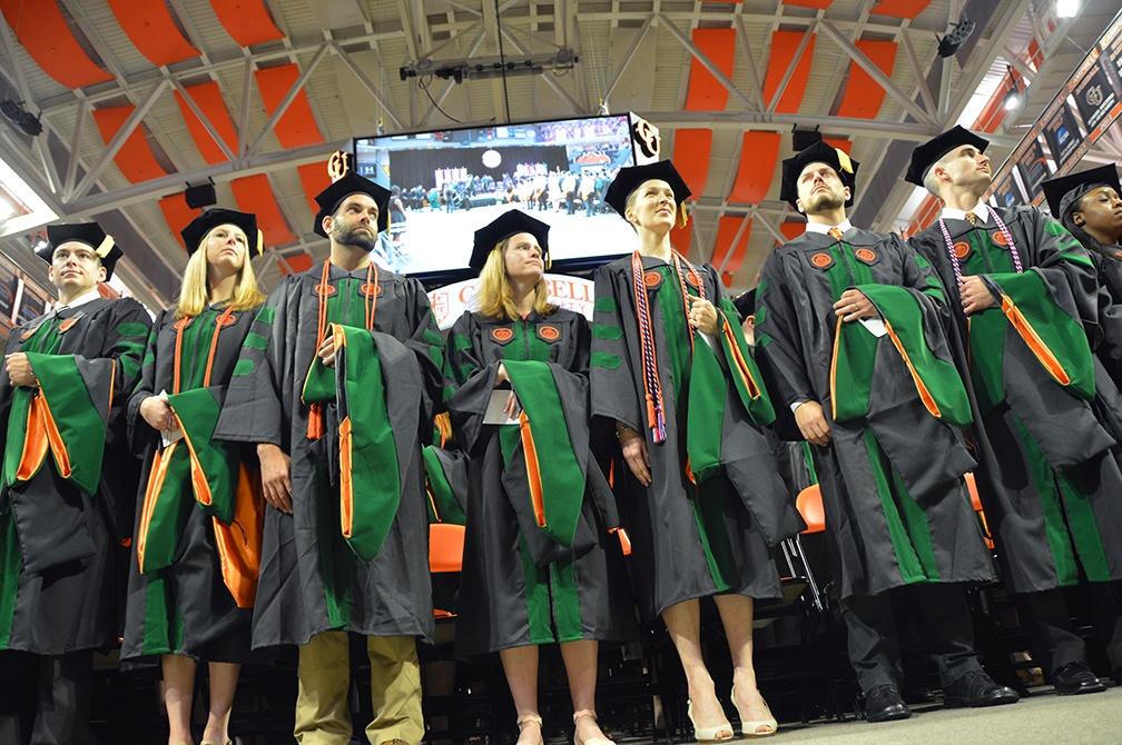 Campbell University Medical School 2017 graduates
