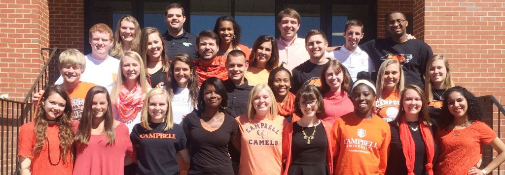 image of 2017-2018 Campbell University Peer Mentors