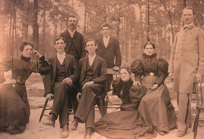 image of 1902 campbell faculty