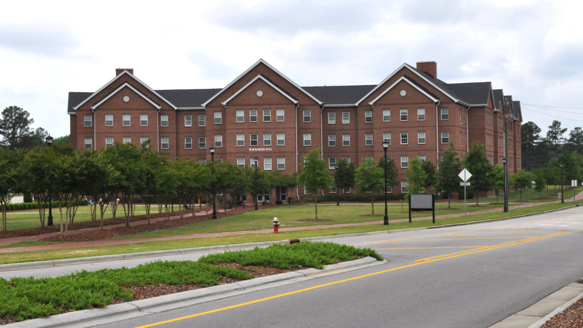 image of bob barker hall