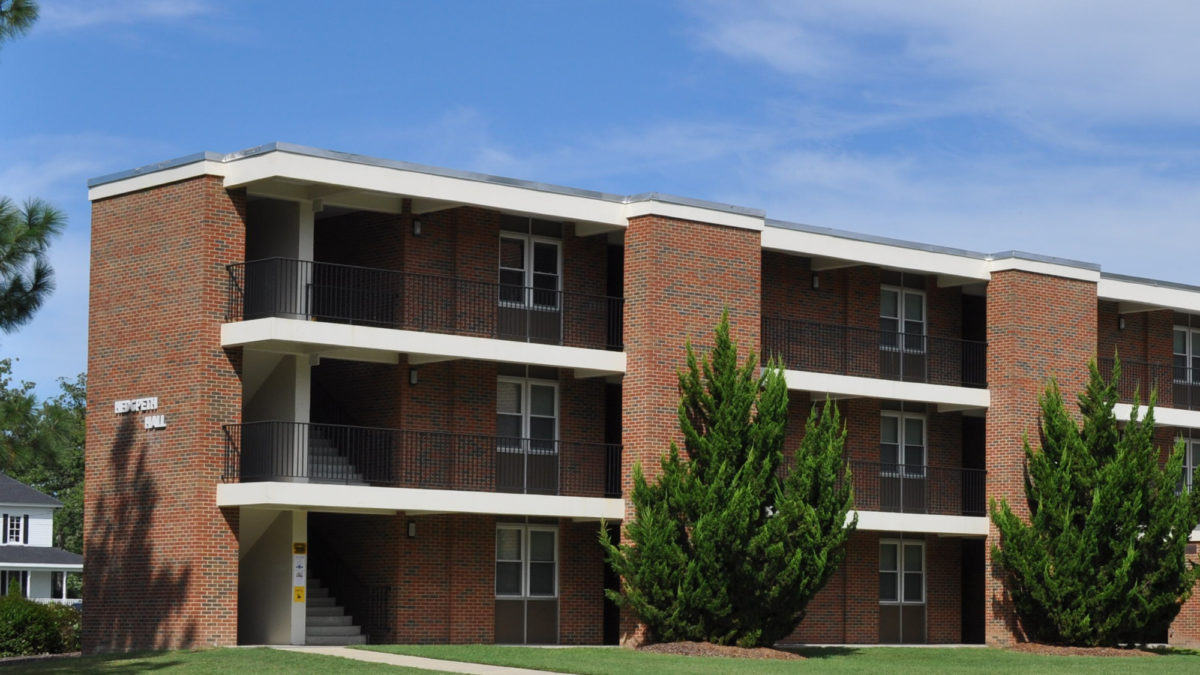 Residence Halls Apartments Campbell University