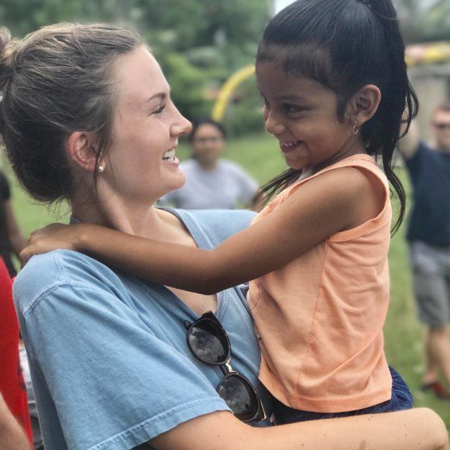 Campbell Student studying abroad