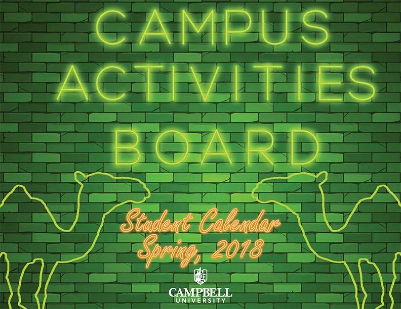 Spring 2018 CAB Calendar