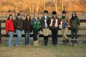 Club Equestrian team photo