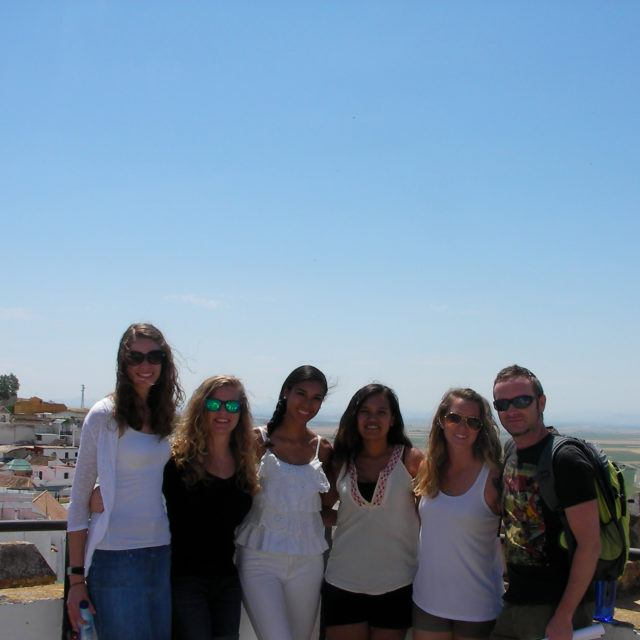 students studying abroad in Spain