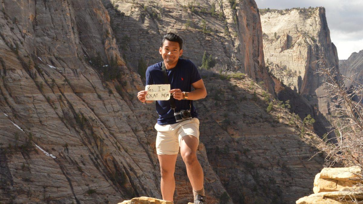 image of adventure trip participant