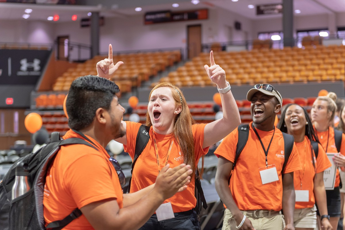 image of orientation leaders