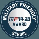 Military Friendly School Award 2019-20