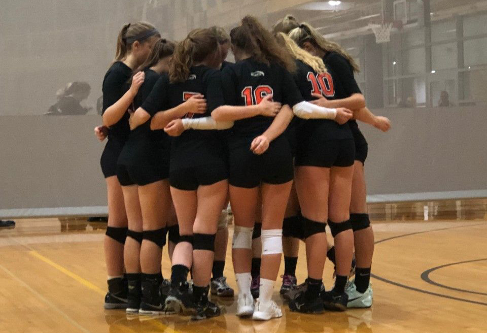 image of club sports - women's volleyball