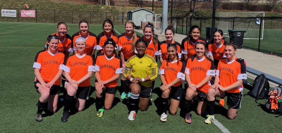 image of women's soccer club sport team
