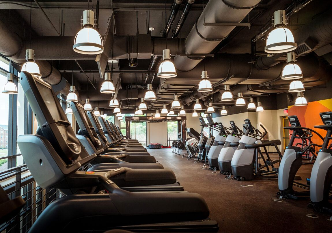 image of fitness center at Student Union