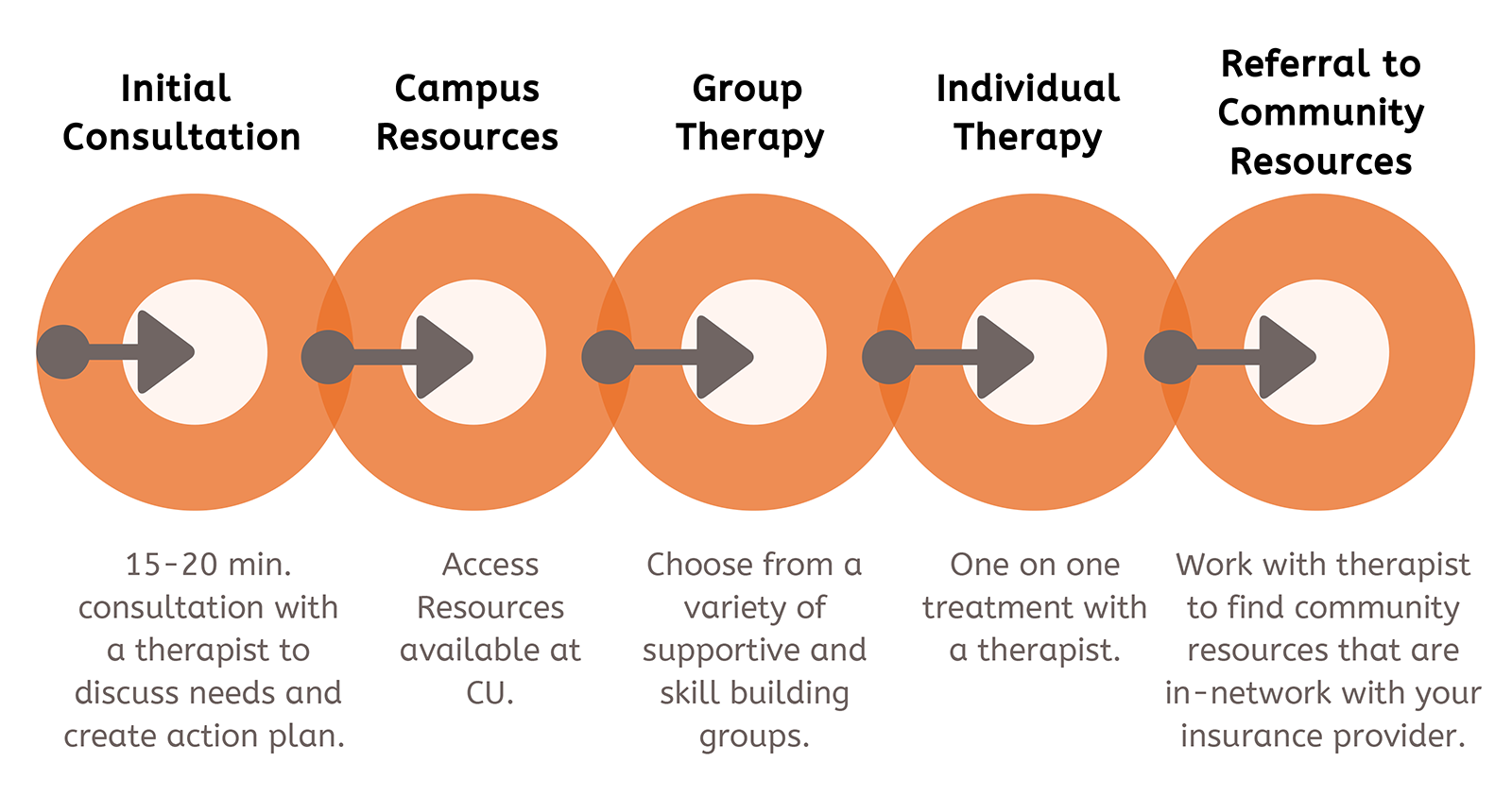 image of the Stepped Care Model of Care