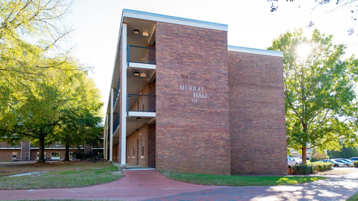 Exterior of Murray Hall