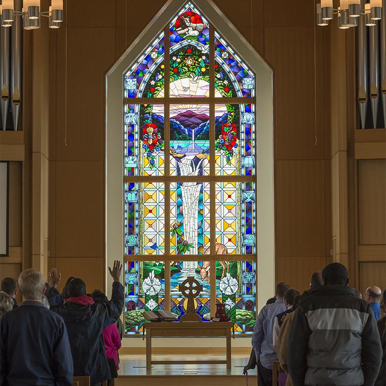 image of chapel interior