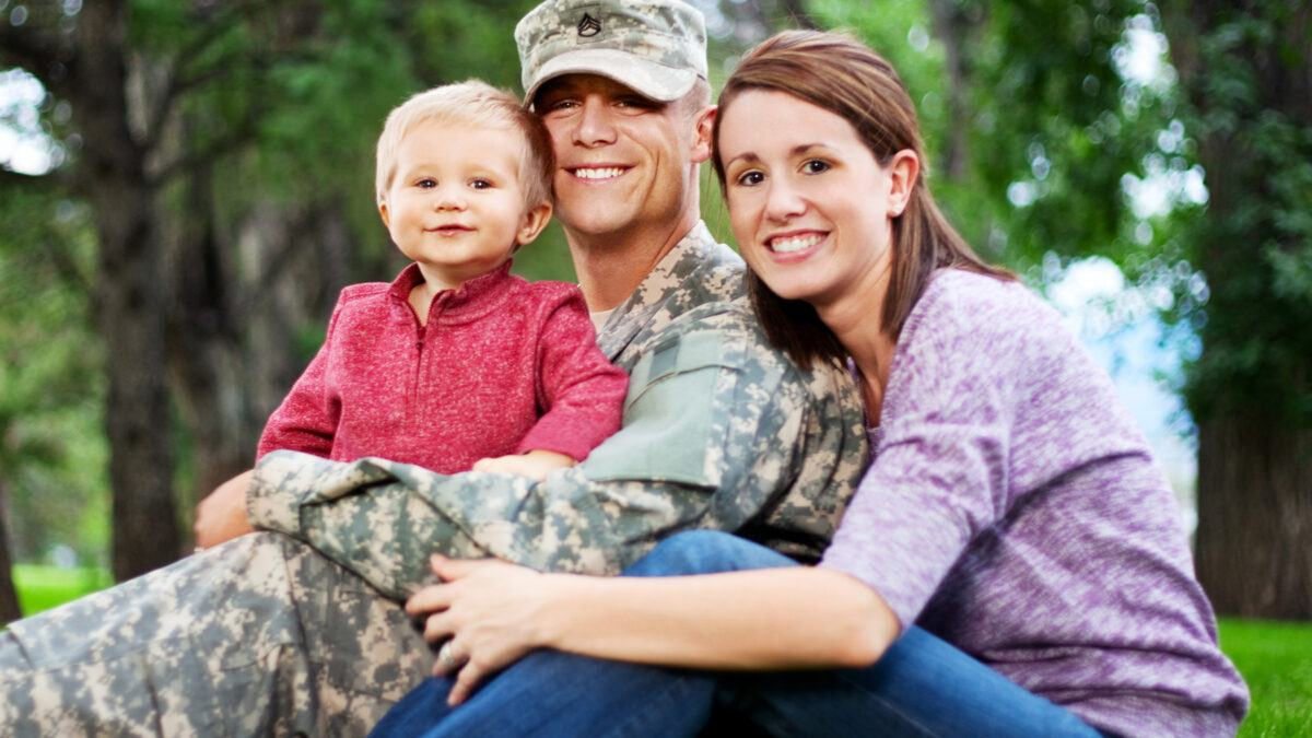 American military family