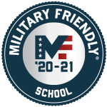 image of military friendly school seal