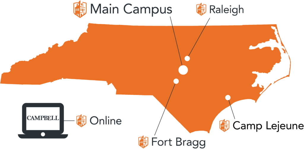 image of AOE campuses map