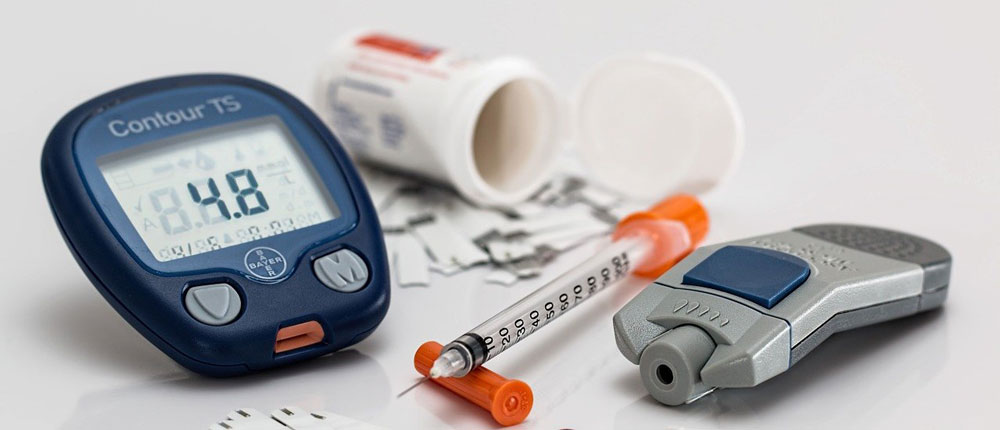 image of a diabetes care kit