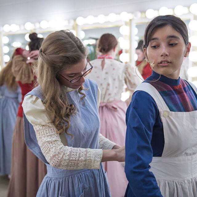 theatre arts students