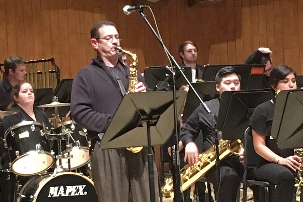 image of jazz ensemble - campbell university