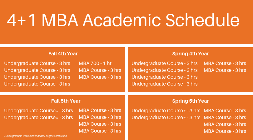 4+1 Curriculum/Academic Planning Schedule