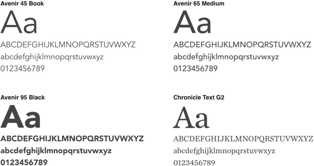 image of primary fonts