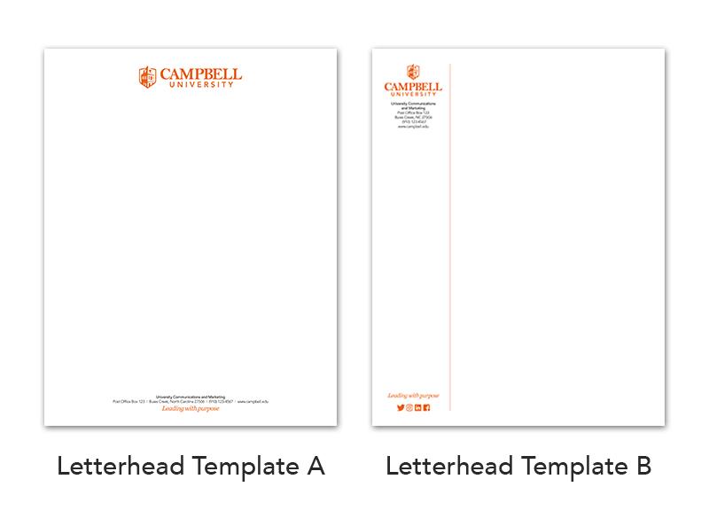 image of letterhead templates