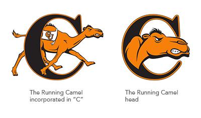 running camel marks