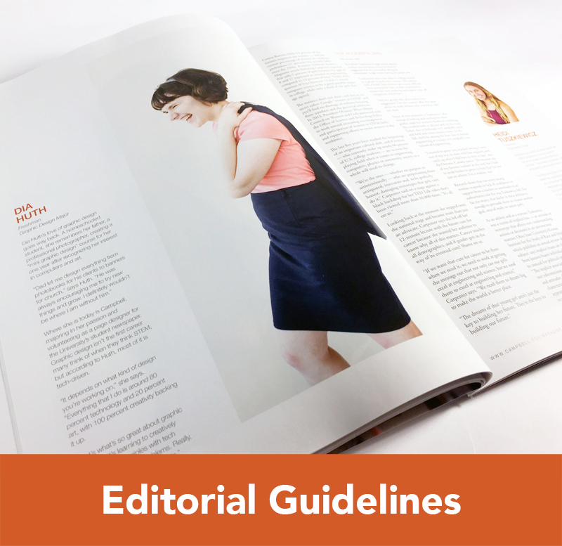 Editorial Guidelines