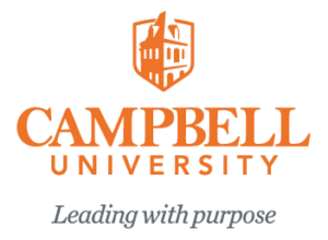 Campbell University Wordmark with Tagline