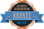ASEE Diversity Recognition badge