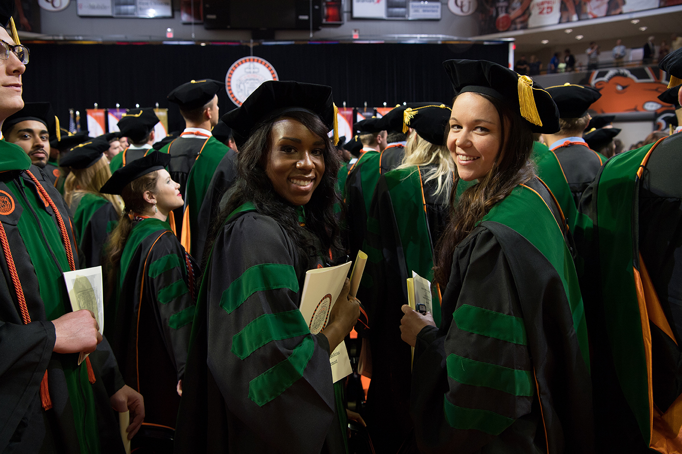 Campbell University medical school graduates