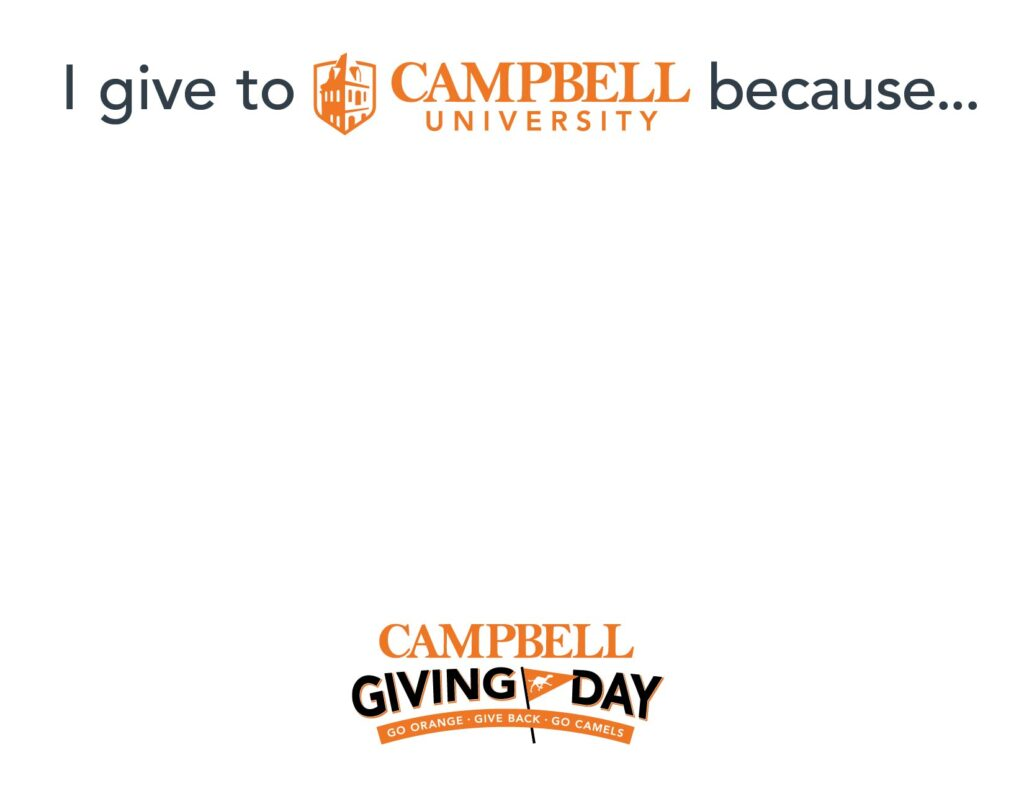 Giving Day sign