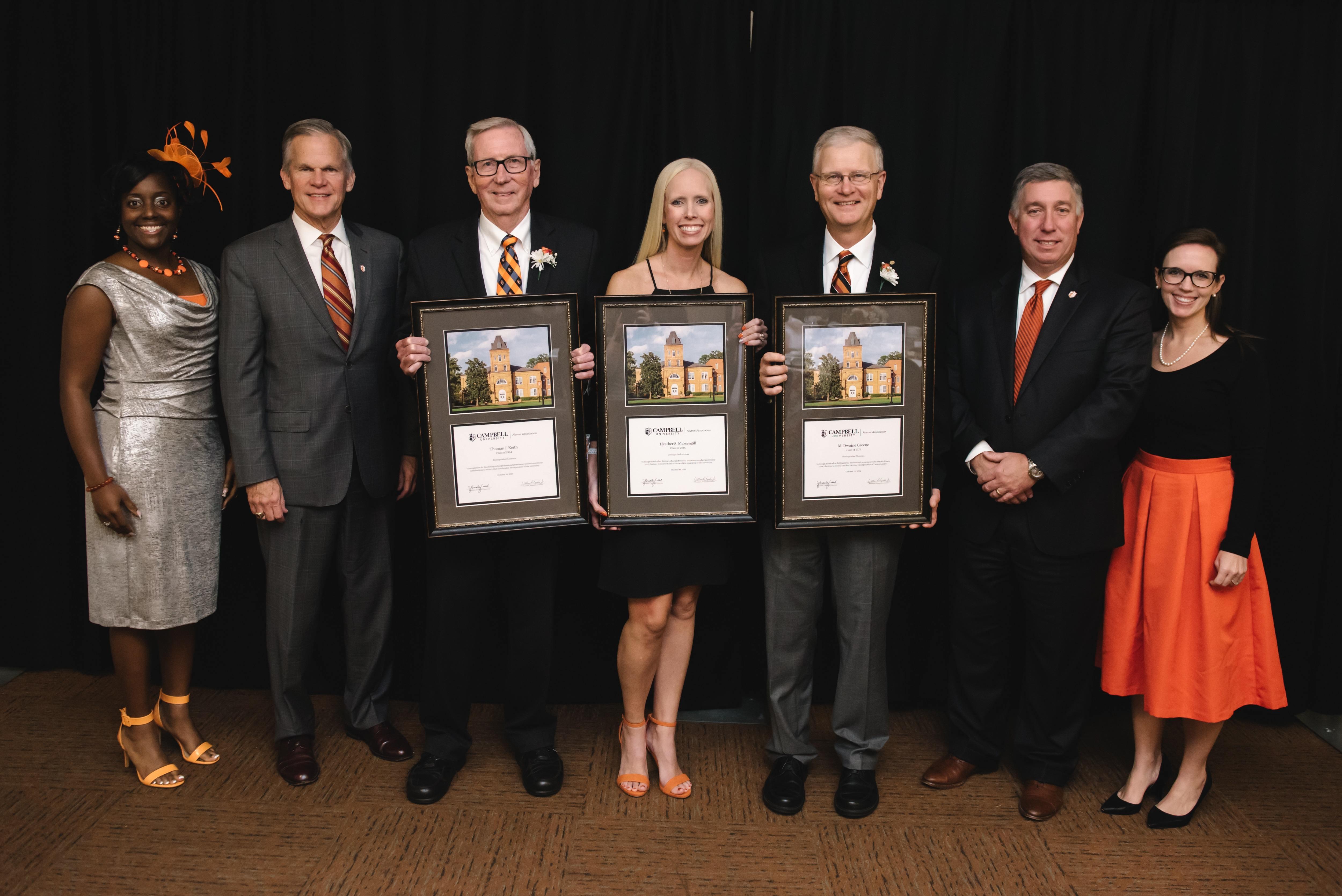 Distinguished Alumni - 2019