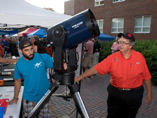 image of university telescopes
