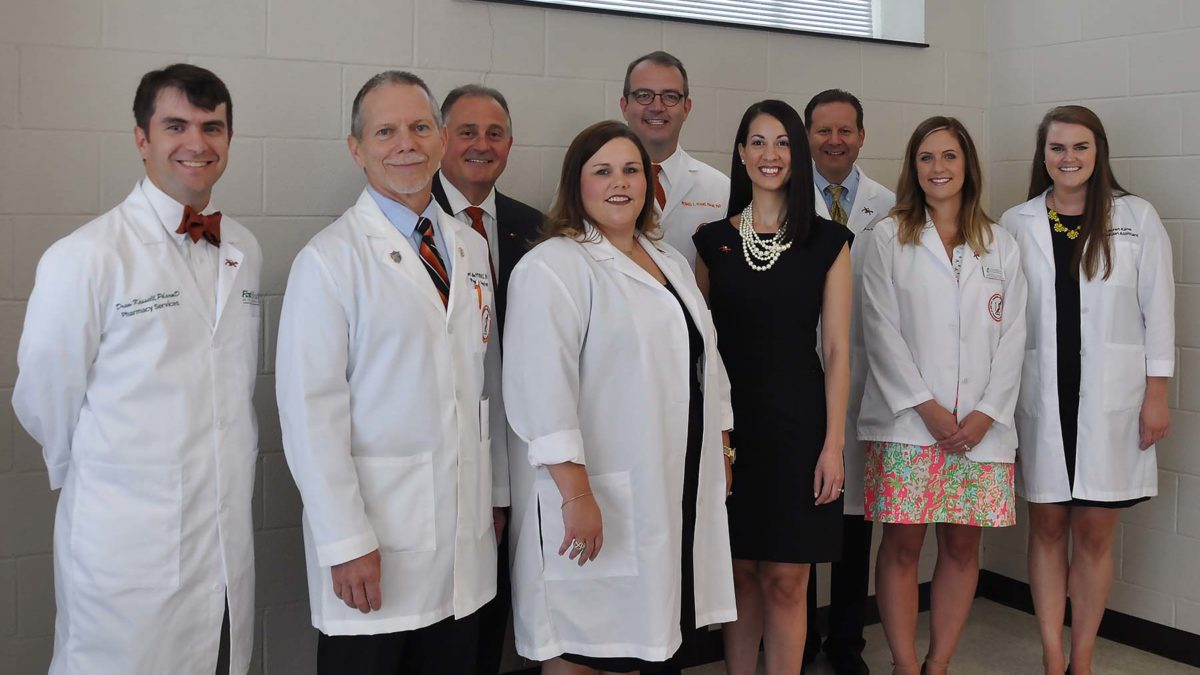 Consider your purpose: PA and PharmD students receive short white ...