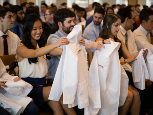 DO Class of 2021 White Coat Ceremony