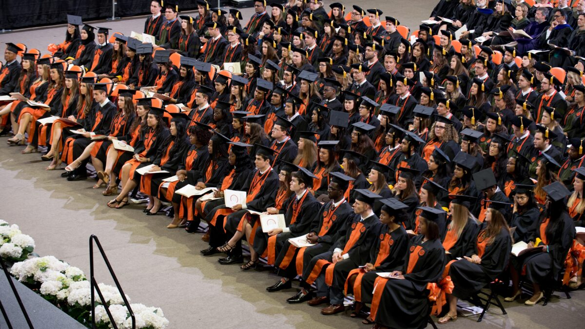 2017 Campbell University Pharmacy Graduation Ceremony