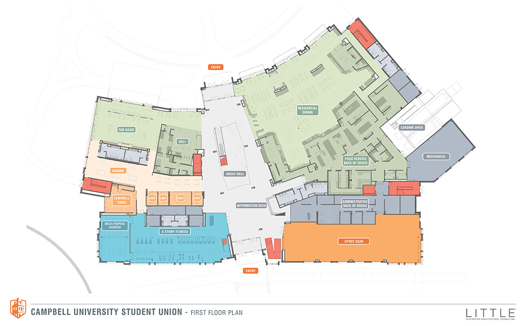 Groundbreaking ceremony for Campbell's student union set for April on