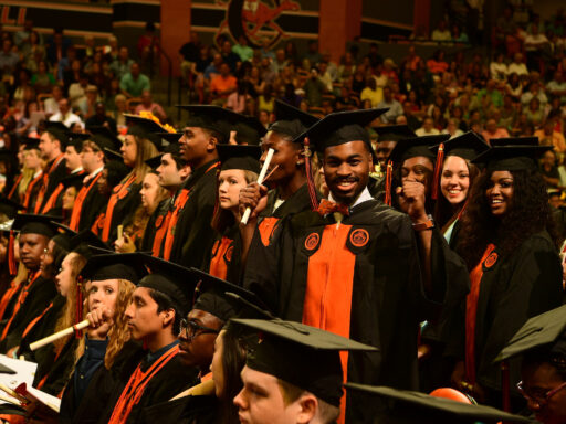 image of graduating students