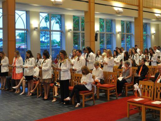 Taking the nursing oath