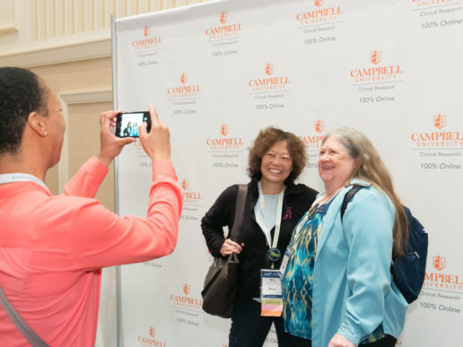 Kimberly Whitted taking photo