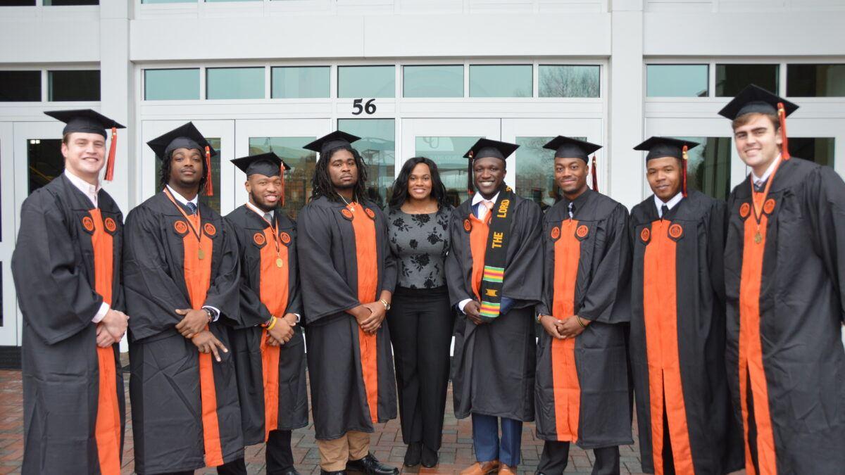 image of Campbell graduates