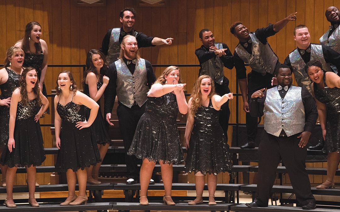 image of Opera Theatre students