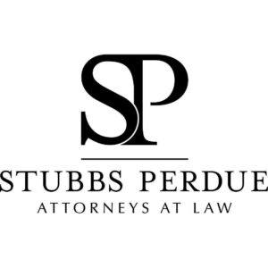 Image of the letters SP and the wordsStubbs Perdue attorneys at law