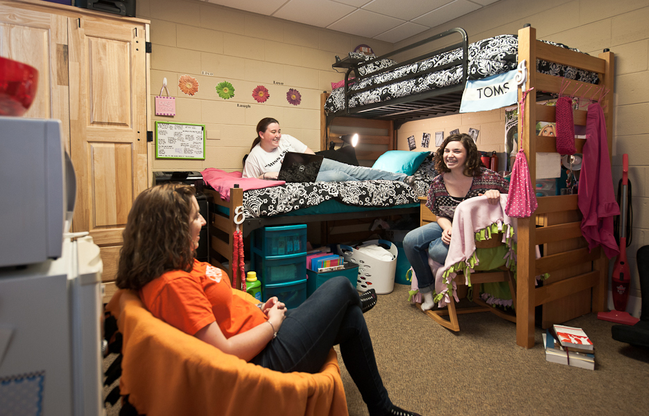 image of students in dorm