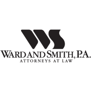 Logo with words Ward and Smith PS Attorneys at Law