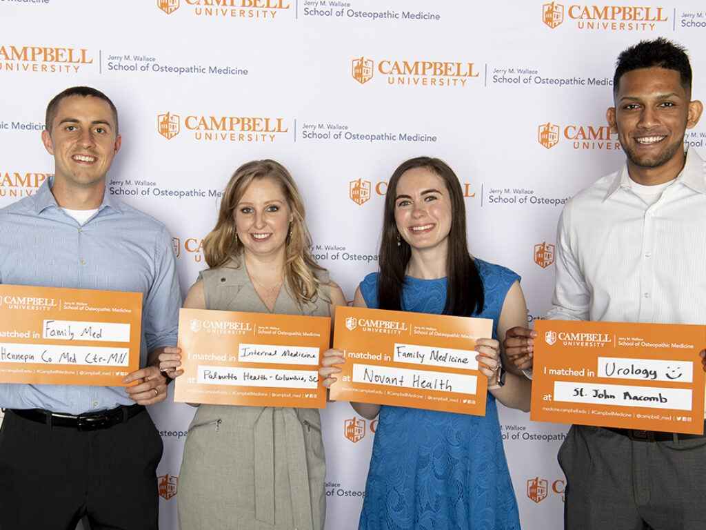 Campbell Med celebrates 100% placement on Residency Match Day | News