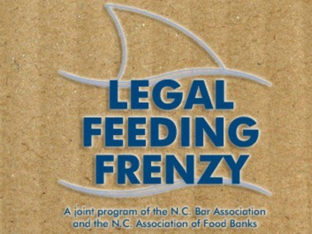 Graphic that says NC Bar Legal Feeding Frenzy