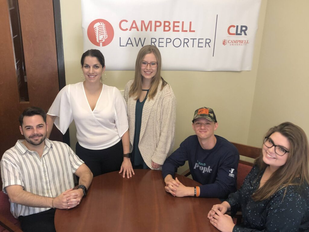 Photo of Campbell Law Reporter staff